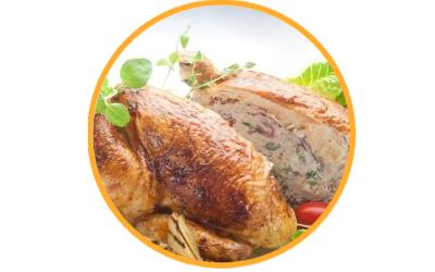 Aromatyczny kurczak pieczony